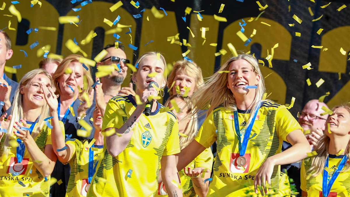 Swedish women's football team