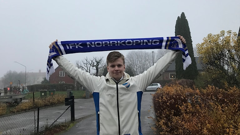 IFK Norrköping supporter Jonatan Häggström Wedding is gearing up for Sunday's title climax.