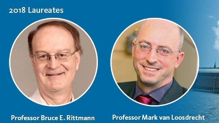 World Water Prize winners 2018, Bruce Rittman and Mark van Loosdrecht