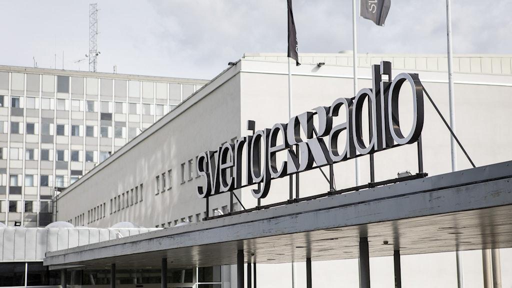 Image of the entrance of Swedish Radio.