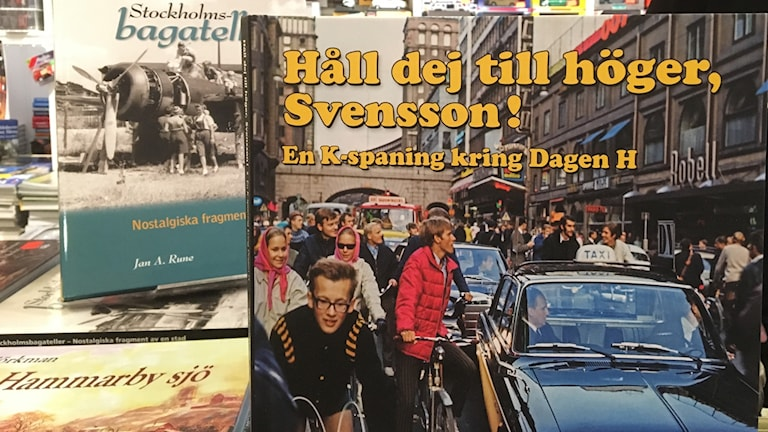 A book containing the story of Sweden's switch from left hand traffic to right hand traffic on the 3rd of September, 1967, a day known as Dagen Höger