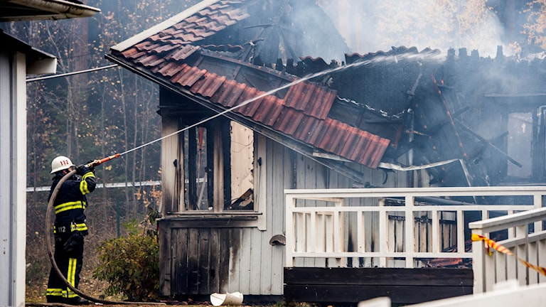 Asylum home fire