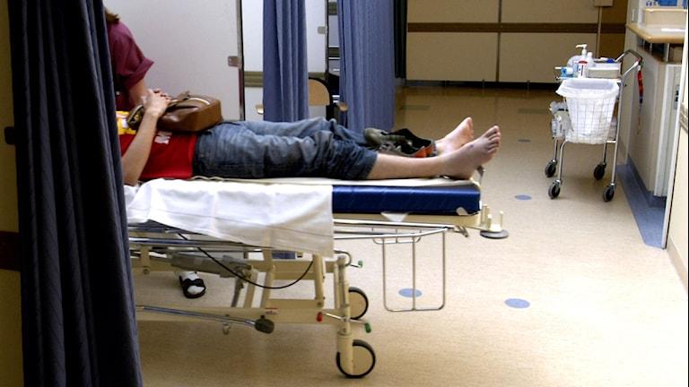 Emergency room at Stockholm's Södersjukhus, Photo: Jurek Holzer/Scanpix