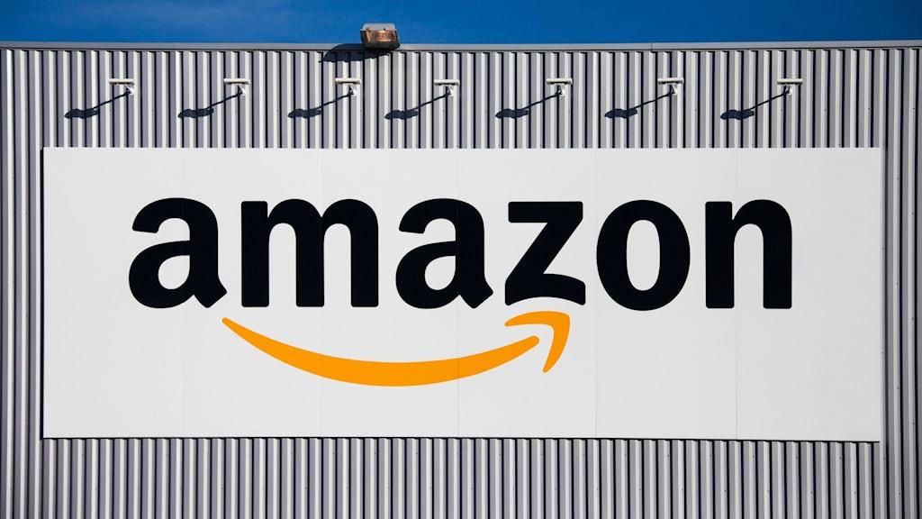 Amazon logistikcenter.