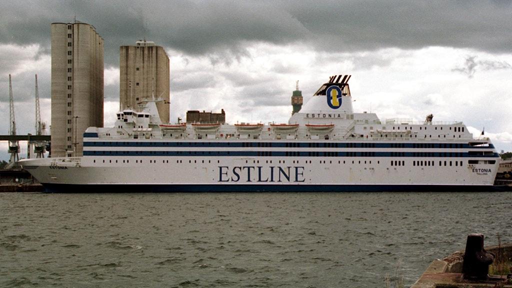 The M/S Estonia.
