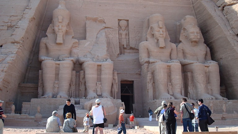 Swedes are no longer advised to avoid Abu Simbel, near the Sudanese border, Photo: George Wood/Radio Sweden