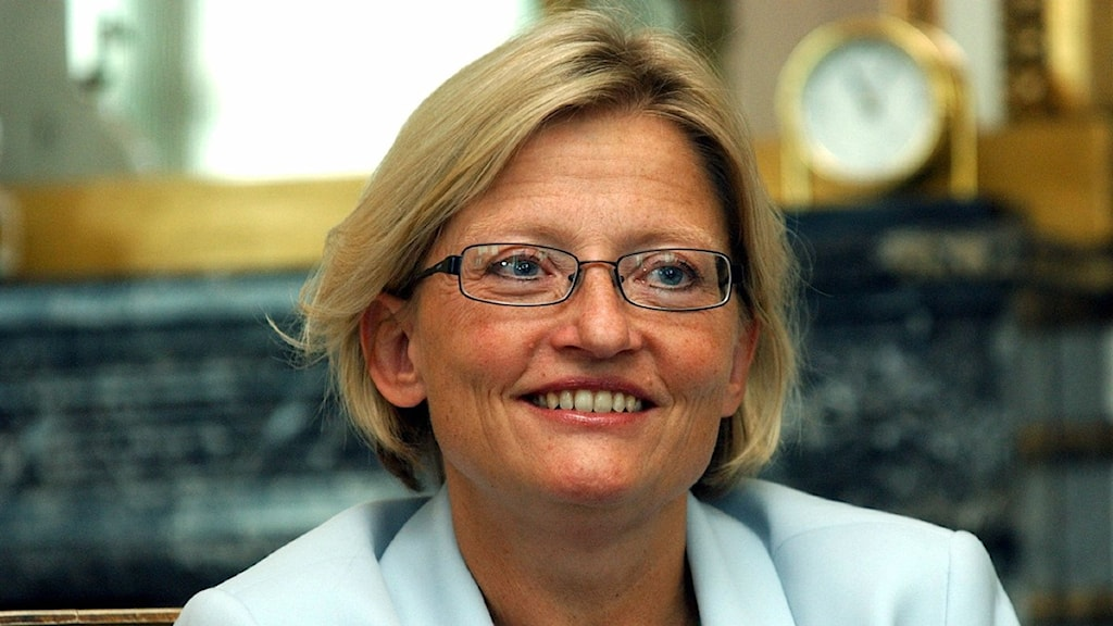 Foreign Minister Anna Lindh was killed in 2003. Photo: Jan Collsiöö/Scanpix