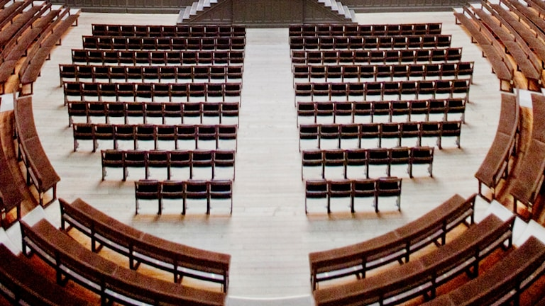 seating in a lecture hall