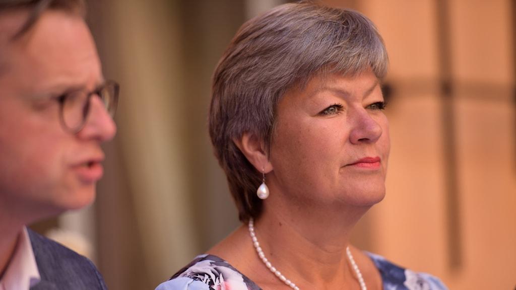 Ylva Johansson, Minister for Employment