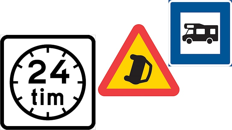Three new signs are being introduced on the roads.