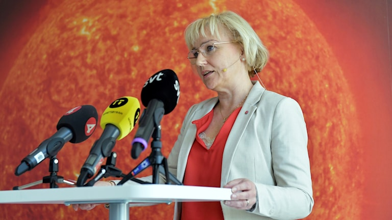 Helene Hellmark Knutsson, the Minister for Higher Education.