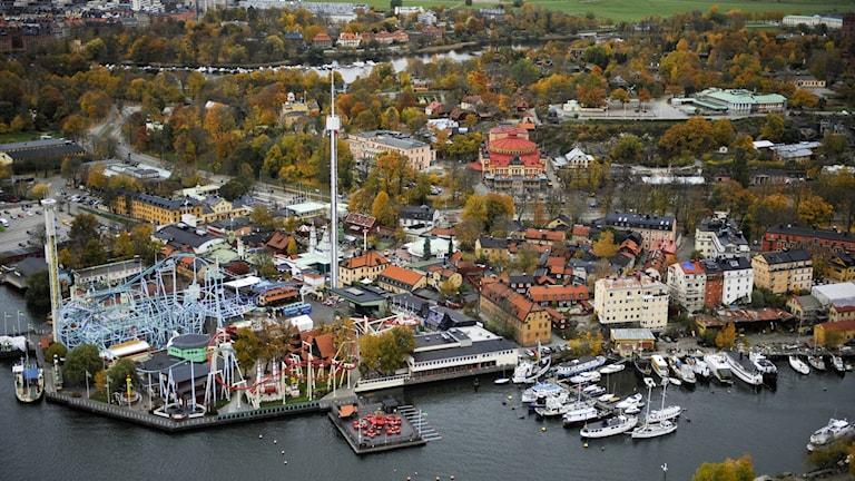 Djurgården in Stockholm.