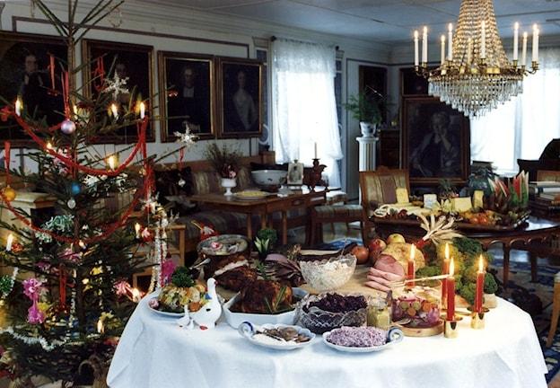 Swedish Christmas dinner, Photo: Jurek Holzer/Scanpix