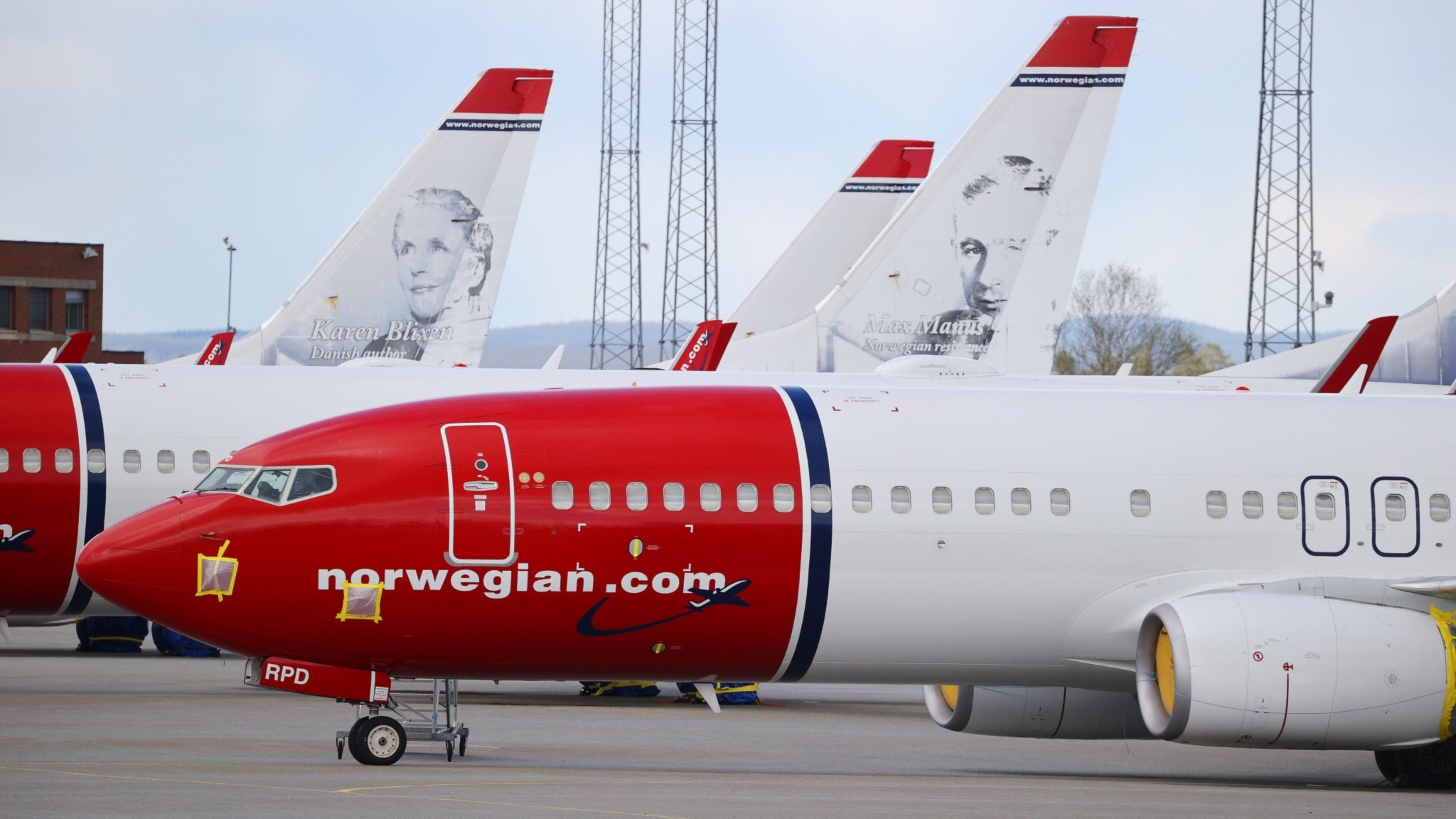 norwegian min sida