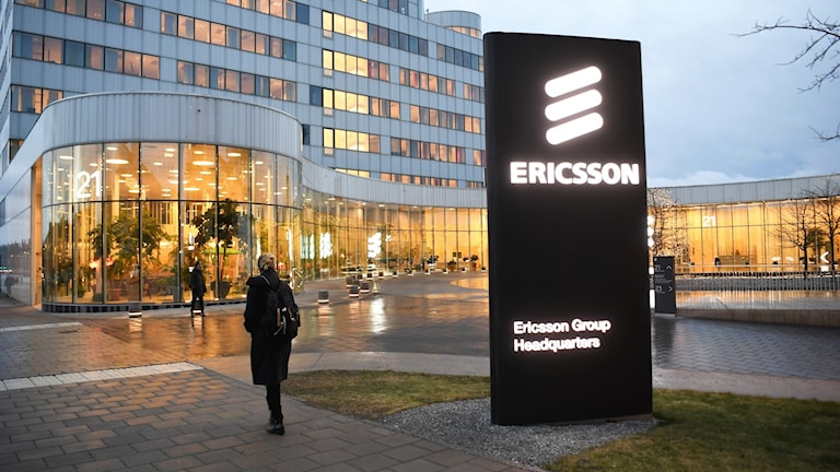 File photo of Ericsson's head office in Stockholm.