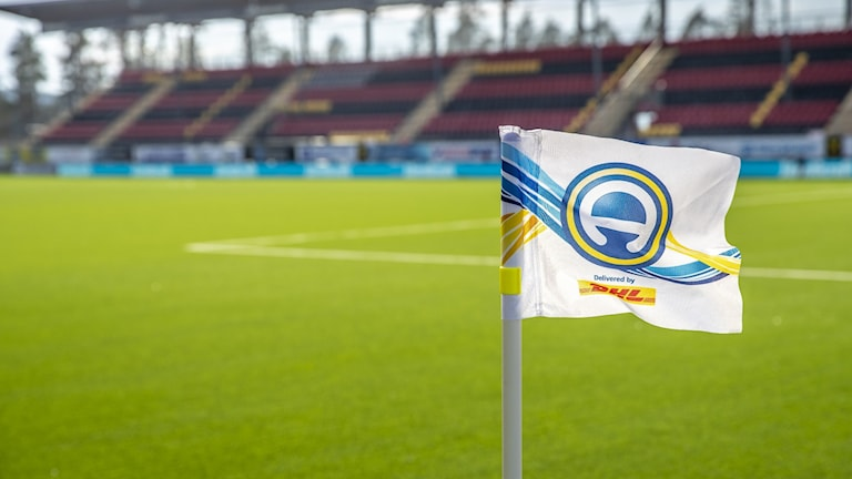 File photo of a Swedish football stadium