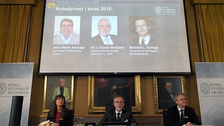 The Nobel jury announces the winners of the Nobel Prize in Chemistry.