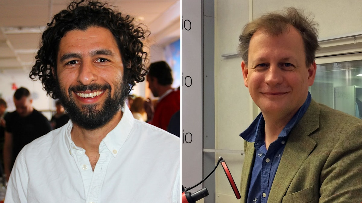 Singer José González and ousted Green Carl Schlyter are interviewed in this week's Radio Sweden. Photo: Sveriges Radio