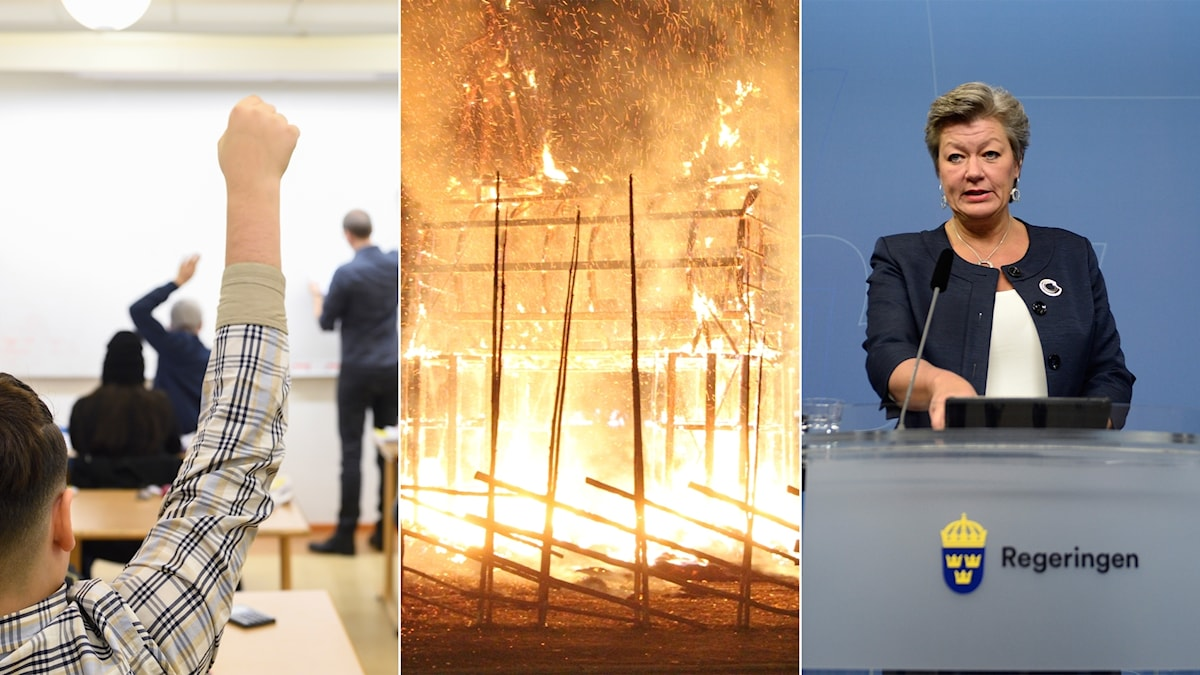 Immigrantion tensions, better grades for schools and a flaming goat