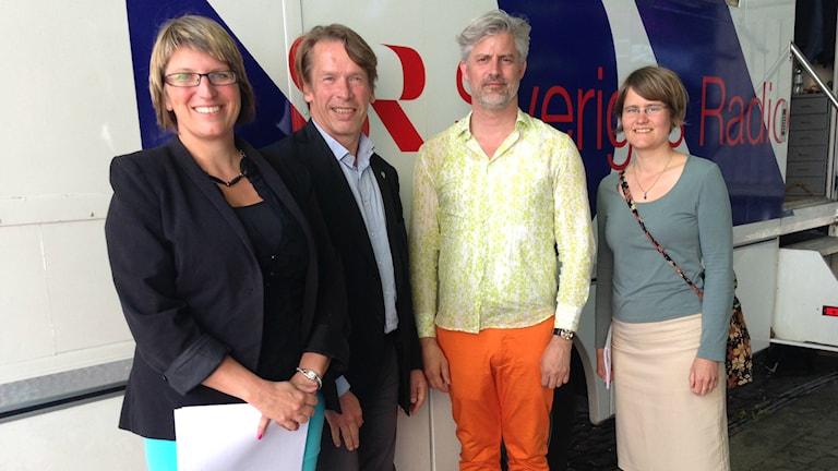 Radio Sweden debate on Free Schools