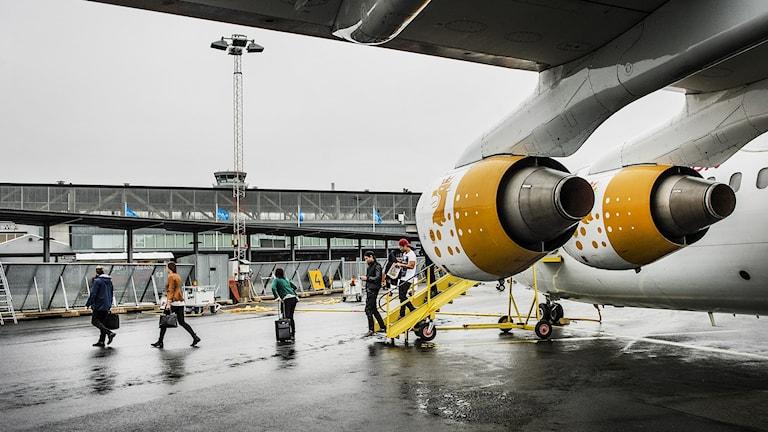 Bromma flygplats. Foto: Tomas Oneborg/SvD/TT.