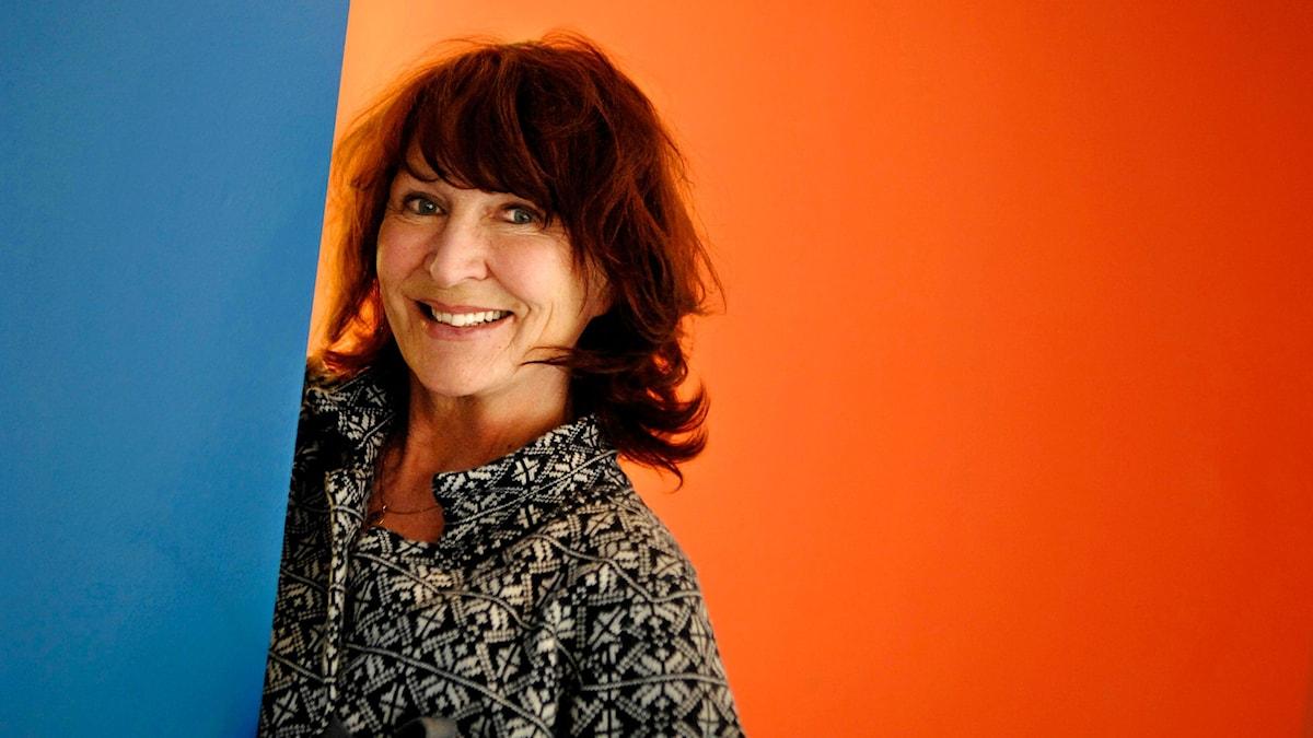 Actress Kim Anderzon. Photo: Lars Pehrson / SvD /TT