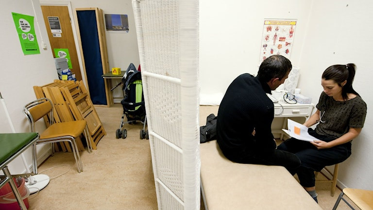 A clinic in Stockholm. Photo: Henrik Montgomery / TT.