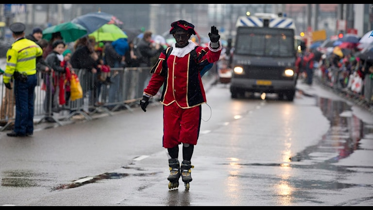 Black Peter (Zwarte Piet) in the Netherlands, Photo: Peter Dejong/TT