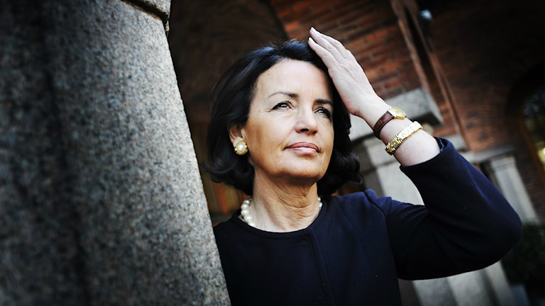 Anne Ramberg from Swedish Bar Association. Photo: Yvonne Åsell/TT