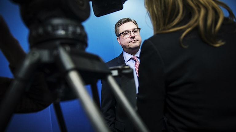 Arbetsförmedlingens GD Mikael Sjöberg. Foto: Yvonne Åsell / SvD / TT