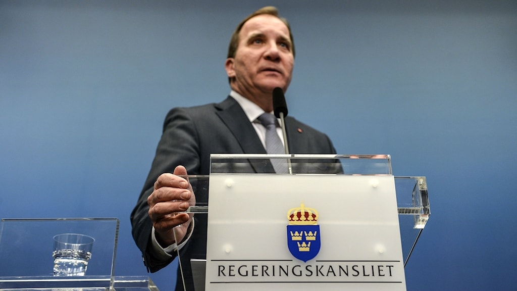 Swedish Prime Minister Stefan Löfven. Photo: Pontus Lundahl/TT.