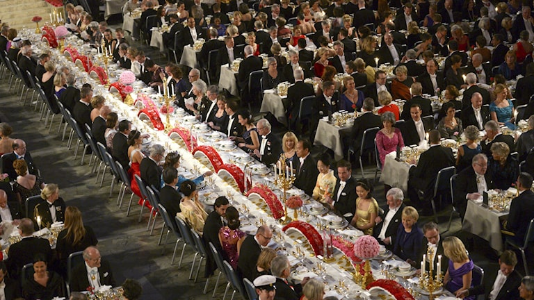The Nobel Banquet 2014. Photo: Fredrik Sandberg / TT