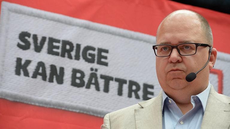 Karl-Petter Thorwaldsson. Photo: Janerik Henriksson / TT