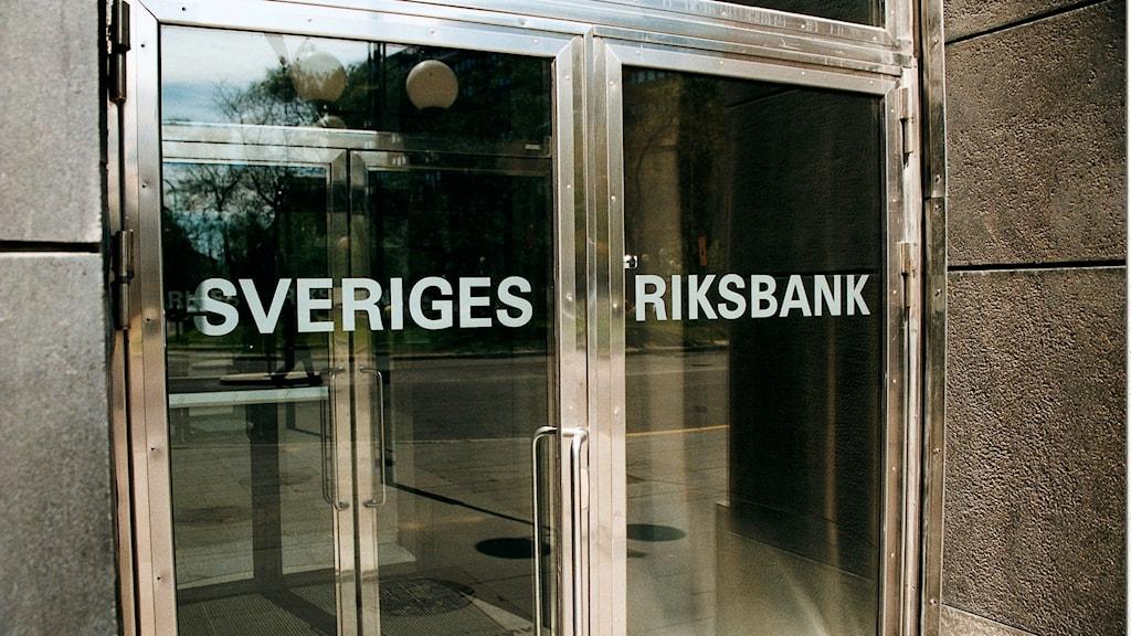 Photo: Riksbanken