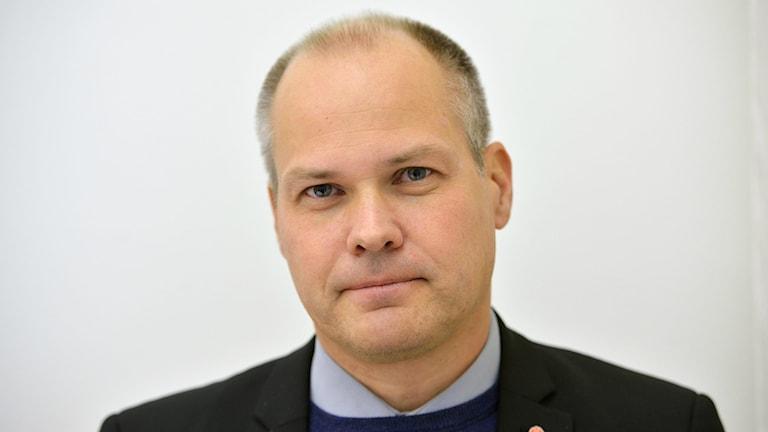 Justice and Immigration Minister Morgan Johansson. Photo: HENRIK MONTGOMERY / TT