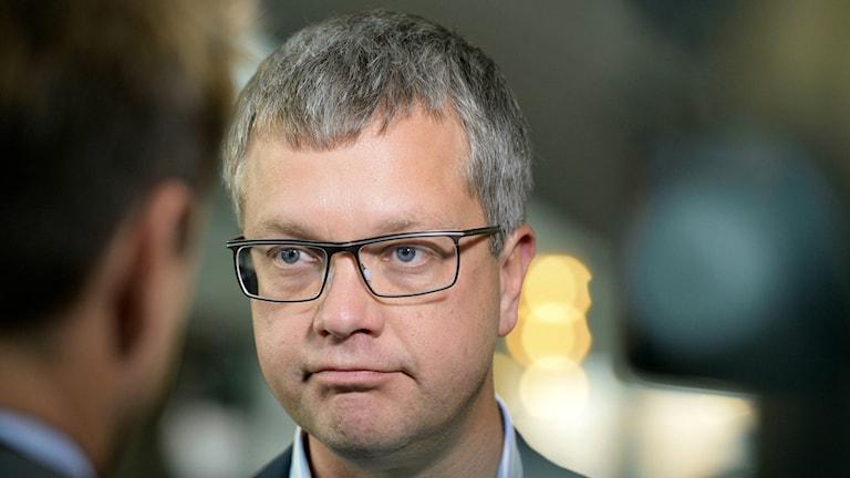 Kent Persson will step down next month. Photo: Bertil Ericson / TT