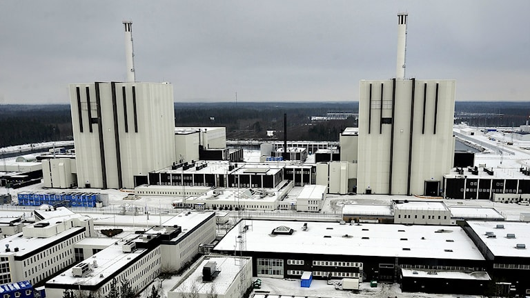 Forsmark Nuclear Power Plant. Photo: Thomas Oneborg/SvD/TT.