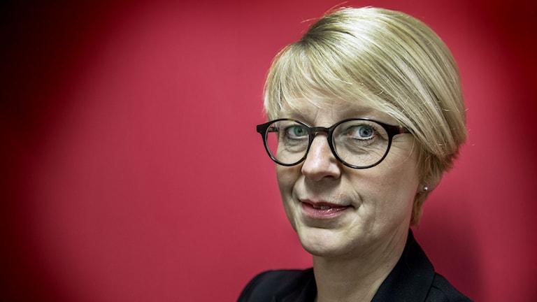 Elisabeth Svantesson, labour market spokesperson for the moderate party. Photo: Tomas Oneborg / SvD / TT