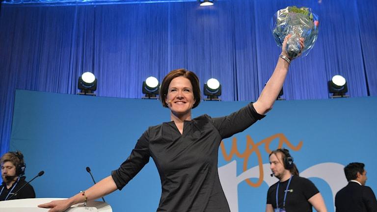 Anna Kinberg Batra has been chosen as the new conservative Moderate leader, Photo: Henrik Montgomery/TT