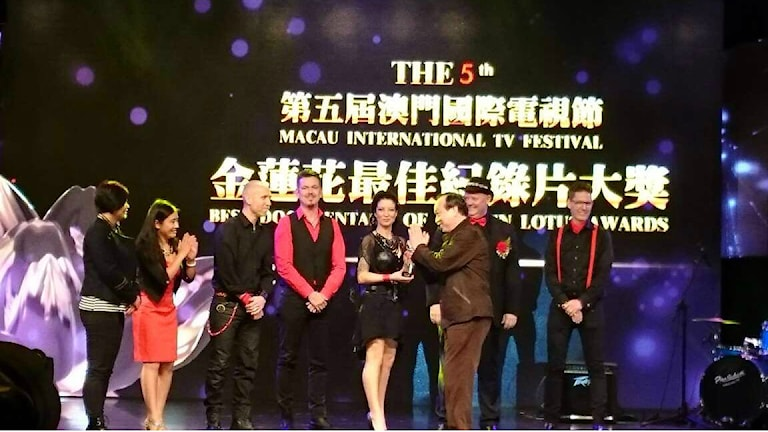 Electric Religions at Macau International Movie Festival. Photo: Electric Religions.