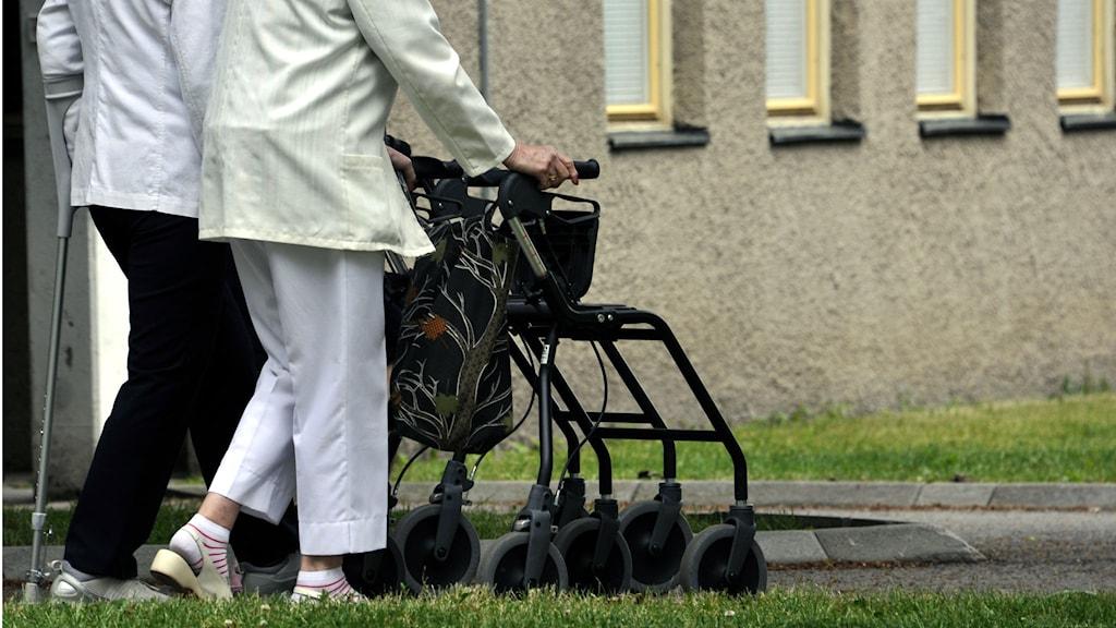 Antalet 100-åringar ökar i Sjuhäradsbygden. Foto: Hasse Holmberg/TT