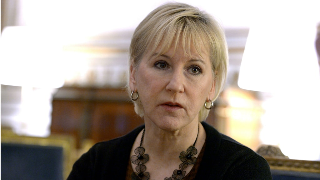 Foreign Minister Margot Wallström. Photo: Janerik Henriksson / TT