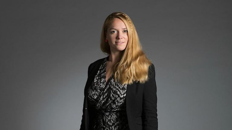 Johanna Jonsson, the Centre Party's integration spokesperson. Photo: Anna Simonsson/Centrepartiet/Flickr CC BY 2.0