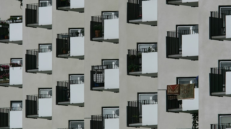Stockholm balconies