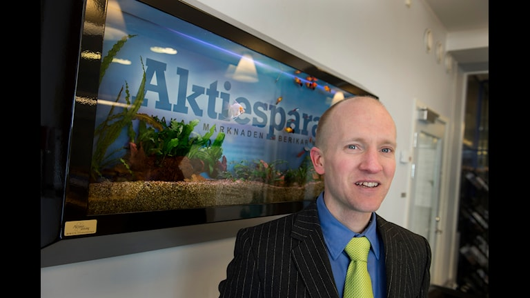 Albin Rännar, head of market watch for the Swedish Shareholders' Association. Photo: Lars Pehrson / SvD / TT.