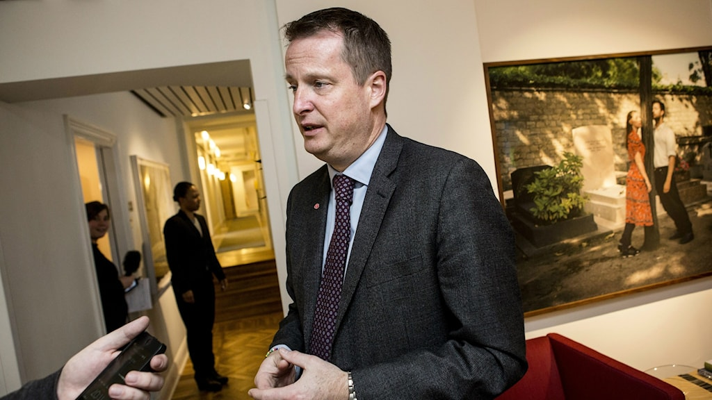 Minister of the Interior Anders Ygeman. Photo: Christine Olsson / TT.