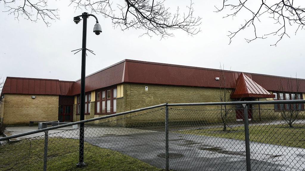 Värner Rydenskolan middle school in Malmö. Photo: Johan Nilsson / TT.