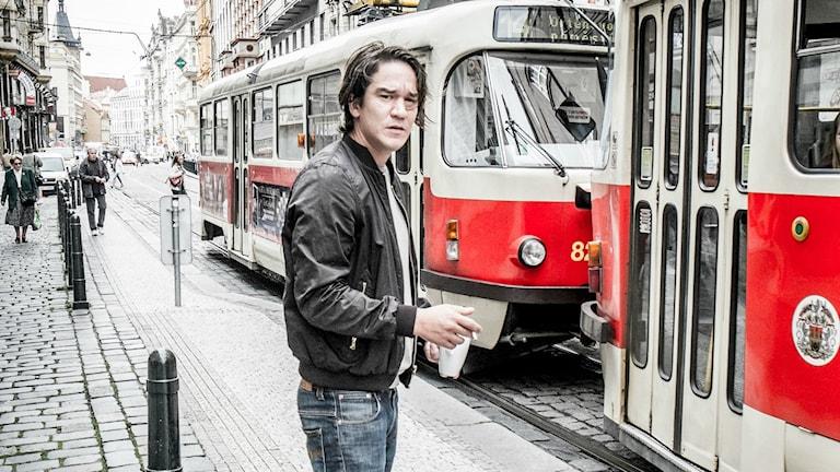 """Daniel Espinosa in Prague in 2013 where he directed the film """"Child 44."""" Photo: Magnus Hjalmarson Neideman / SvD / TT."""