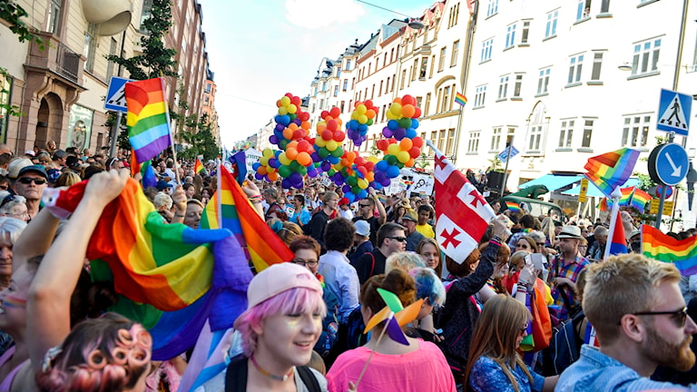 This week is Stockholm Pride's 20th anniversary.