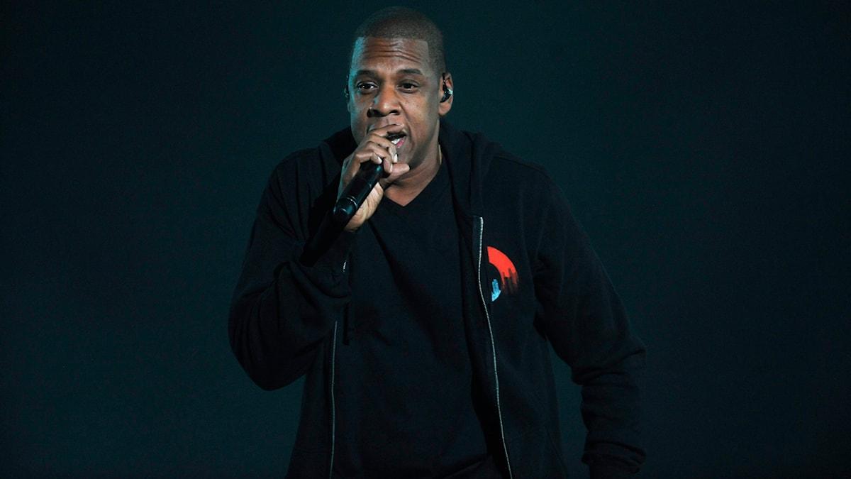 Rapper Jay Z bought the streaming service Tidal from a Swedish company. Photo: TT/Brad Barket/Invision/AP